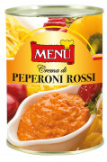 Crema di peperoni rossi - Red sweet pepper cream