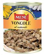 Vongole al naturale senza guscio - Shelled clams naturally preserved