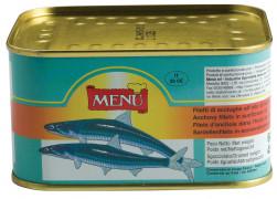 Filetti di Acciughe all'olio di semi di girasole (Filets d'anchois à l'huile de tournesol)