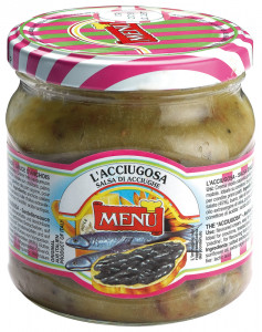 L'Acciugosa Anchovy sauce Glass jar 380 g nt. wt.