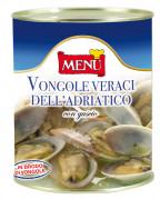 Vongole veraci dell'Adriatico con guscio (Venusmuscheln aus der Adria mit Schale)