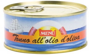Tonno all'olio di oliva - Tuna in olive oil