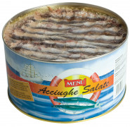 Acciughe salate (Anchoas en salazón)