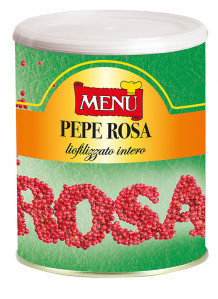 Pepe rosa liofilizzato - Freeze-dried Pink Pepper Tin 190 g nt. wt.