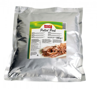 Pulled pork Bag 1300 g nt. wt.