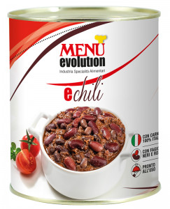 Èchili with beef Tin 850 g nt. wt.