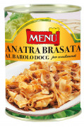 Anatra brasata al Barolo D.O.C.G. per condimenti - Braised duck with Barolo D.O.C.G. for condiments