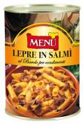 Lepre in salmì al Barolo D.O.C.G. per condimenti (Civet de lièvre au Barolo D.O.C.G. pour condiments)