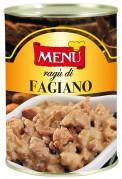 Ragù di Fagiano (Sauce ragù de faisan)