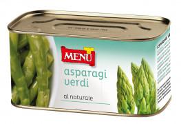 Asparagi verdi al naturale lessati - Boiled Green Asparagus Naturally Preserved