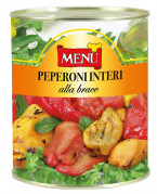 Peperoni interi alla Brace - Roasted Whole Peppers