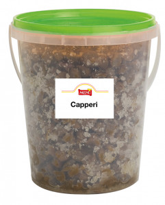 Capperi sotto sale - Salted Capers Tin 1000 g nt. wt.