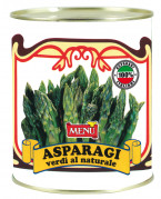 Punte di asparagi verdi lessate - Boiled Green Asparagus Tips