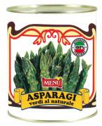 """Punte di asparagi verdi lessate (Grüne Spargelspitzen """"natur"""", gegart)"""
