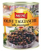 Olive Taggiasche «alla provenzale» (Aceitunas «Taggiasca» a la provenzal)