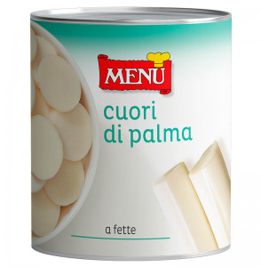 Cuori di palma a rondelle - Sliced Palm Hearts Tin 800 g nt. wt.