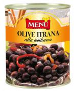 Olive Itrana «alla siciliana» (Aceitunas «Itrana» a la siciliana)
