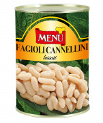 Fagioli cannellini lessati (Alubias blancas cocidas)