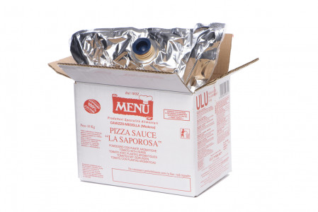 "Pizza Sauce  ""La Saporosa"" Bag 10000 g nt. wt. ASEPTIC PACKAGE"