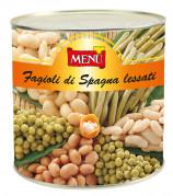 Fagioli di Spagna lessati (Alubias de España cocidas)