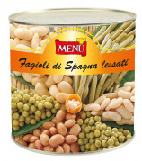 Fagioli di Spagna lessati - Boiled Butter Beans