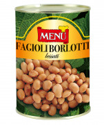 Fagioli Borlotti lessati - Boiled Borlotti Beans