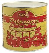 Polpavera taglio grosso - Polpavera diced tomato pulp