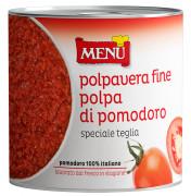Polpa di pomodoro «speciale teglia» (Pulpa de tomate «especial bandeja»)