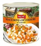 Macedonia di verdure al naturale