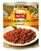 Fagioli Borlotti Lamon in umido (Judías Borlotti Lamon estofadas)