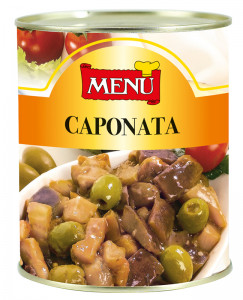 Caponata - Caponata Vegetable Dish Tin 820 g nt. wt.