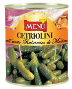 Cetriolini all'aceto balsamico di Modena I.G.P. - Gherkins with PGI Modena balsamic vinegar