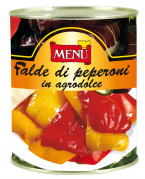 Falde di peperoni in agrodolce - Sweet and Sour Peppers