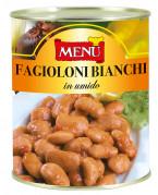 Fagioloni bianchi in umido (Judías blancas grandes estofadas)