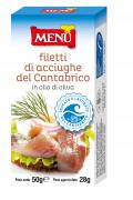 Filetti di Acciughe del Cantabrico - Cantabrian Anchovy fillets