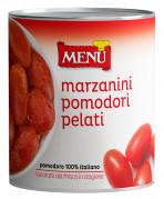 Peeled marzanini tomatoes
