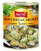 Boccioli di carciofi Grigliati (Corazones de alcachofas a la parrilla)