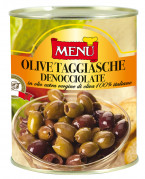Olive taggiasche denocciolate - Pitted Taggiasca Olives