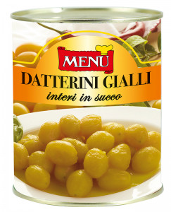 Datterini gialli in succo - Yellow cherry tomatoes in juice Tin 800 g nt. wt.