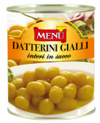 Datterini gialli in succo - Yellow cherry tomatoes in juice