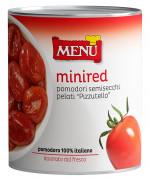 Mini red Pomodori semisecchi pelati Pizzutello - Semi-dried peeled Pizzutello tomatoes