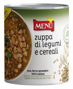 LEGUME AND CEREAL SOUP (concentrated)
