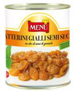 Datterini gialli semisecchi - Semi dried yellow cherry tomatoes