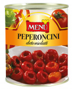 Peperoncini detorsolati - Cored Chilli Peppers