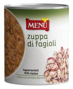 Zuppa di Fagioli (Sopa de judías borlotti)