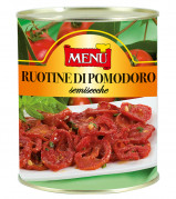 Ruotine di pomodoro semisecche - Wheels of semi- dried tomatoes