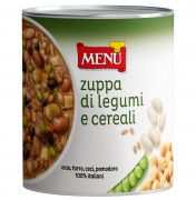 Zuppa di Legumi e Cereali - Legume and Cereal Soup