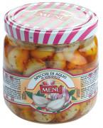 Spicchi di aglio in agrodolce (Dientes de ajo en agridulce)