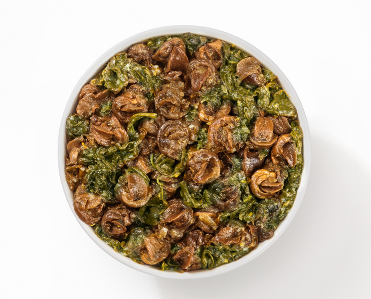 Chiocchiole trifolate - Snails prepared in oil with garlic and parsley