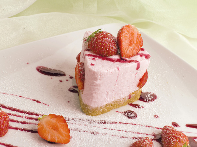 Mousse alla fragola - Strawberry Mousse